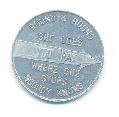 Very Rare.round And Round She Goes Where She Stops Nobody Knows Spinner ..d.131