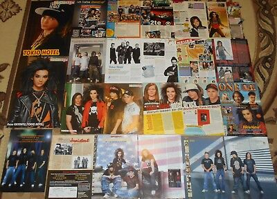 TOKIO HOTEL - Magazine  Posters & Clippings BIG Collection # 3