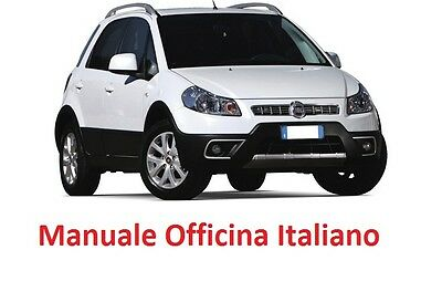Fiat SEDICI 16 (2005/2014)  Manuale Officina ITALIANO SU CD