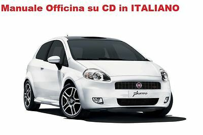 Fiat GRANDE PUNTO (199) Manuale Officina ITALIANO SU CD