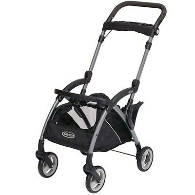 Graco SnugRider Elite Infant Car Seat Frame Stroller Black