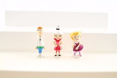 VTG The Jetsons Figures LOT of 3 George Jane Judy PVC 1990 Applause H-B