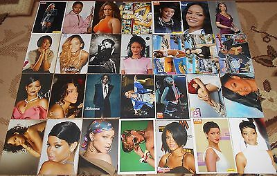 RIHANNA - 28 Magazine Postcards Collection