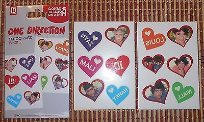 ONE DIRECTION - Tattoo Pack