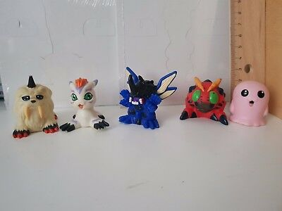 Digimon Tentomon Kabuterimon Motimon Gatomon Ikkakumon kid figure