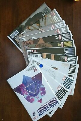 Moon Knight lot #2,3,4,5,6,7,8,9,10,11,12,13 Marvel Lemire/Smallwood /Bellaire
