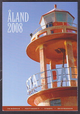 Aland Finland Official Complete Year Set 2008 USED CTO