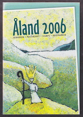 Aland Finland Official Complete Year Set 2006 USED CTO