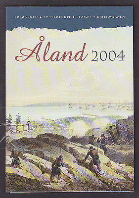 Aland Finland Official Complete Year Set 2004 USED CTO