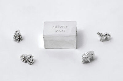 Sterling Silver Zoo in a Box - Tales From The Earth - With Presentation Box
