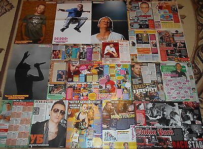 Linkin Park Chester Bennington - Magazine Posters & Articles Giant Collection