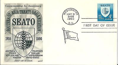 United States SEATO First Day Cover 1960
