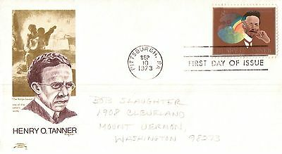 United States Henry O Tanner First Day Cover 1973