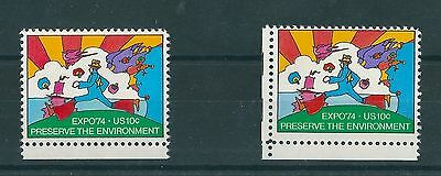 US Expro '74 10c Postage Stamps