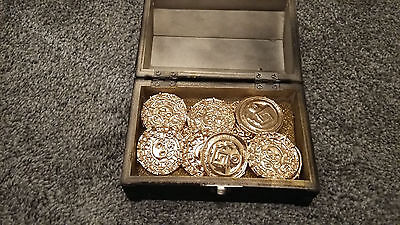 Pirates Of The Caribbean Aztec Gold Cursed Coins Replica Props  Price Drop!