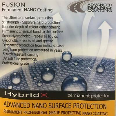 HYBRID-X ADVANCED NANO COATING SURFACE MOTORCYCLE PAINT PROTECTION FUSION 50ml