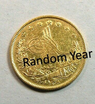 Turkey Ottoman Gold 100 Kr *RANDOM Year* Select from AH1255-1327