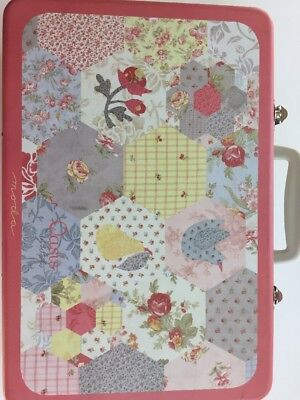 Oasis By 3 Sisters Moda Large Metal Tin Box Floral Container