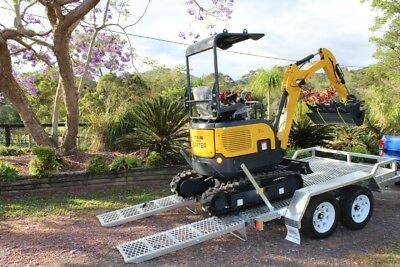 Carter Mini Excavator with Trailer Included