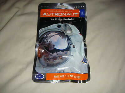 Ice Cream Sandwich - Astronaut Freeze Dried Ready To Eat Space Food Ration Pack