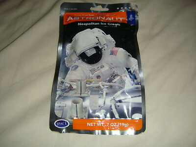 Neapolitan Ice Cream  Astronaut Freeze Dried Ready To Eat Space Food Ration Pack