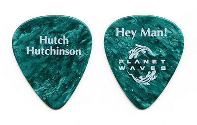 Bonnie Raitt James Hutchinson Blue Pearl Guitar Pick - 1990s Tours