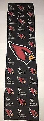 "Arizona Cardinals 8"" x 30"" Cooling Towel NFL Ideal for Indoor/Outdoor Sports New"