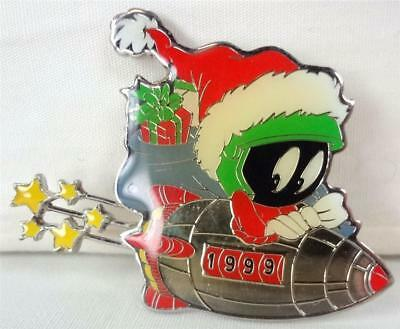 MARVIN the MARTIAN in ROCKETSHIP Xmas Pin from WB STORE