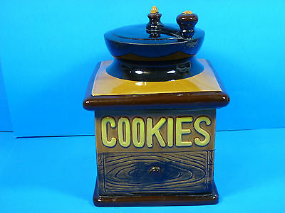 MADE IN JAPAN! Vintage Coffee Grinder Cookie Jar Importated by Woolworth
