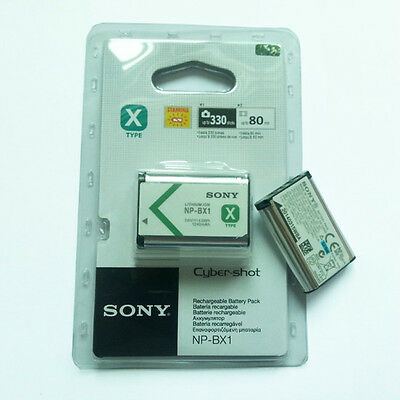 NP-BX1 Battery For Sony HDR-AS15 AS10 HX300 WX300 RX100 RX1 Camera 1240mAh K19
