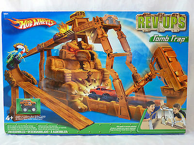 Vintage 2005 Hot Wheels Rev-Ups TOMB TRAP --Brand New UNOPENED--