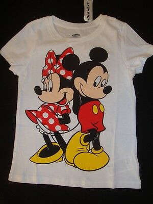 OLD NAVY /  DISNEY MICKEY & MINNIE MOUSE  graphic  TEE SHIRT NWT
