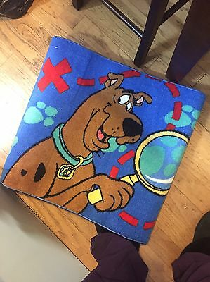 Scooby Doo Rug New In Case Blue Treasure Map
