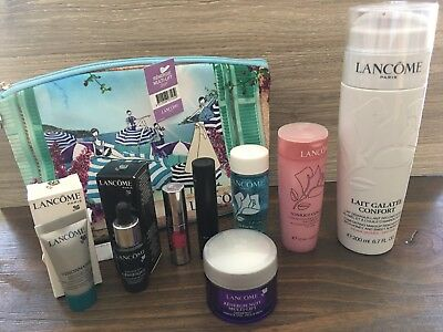 2017 9pc Lancome gift set Renergie Genifique Galatee Confort Full Size V>$250