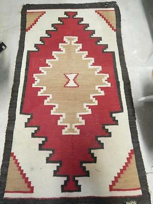 Vintage Navajo Indian Klagetoh Trading Post Area Rug  - Xlnt Colors Dynamic Dsgn