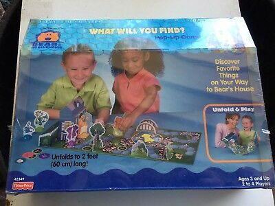 Fisher Price - Bear In The Big Blue House What Will Yoi Find POP uP GaMe