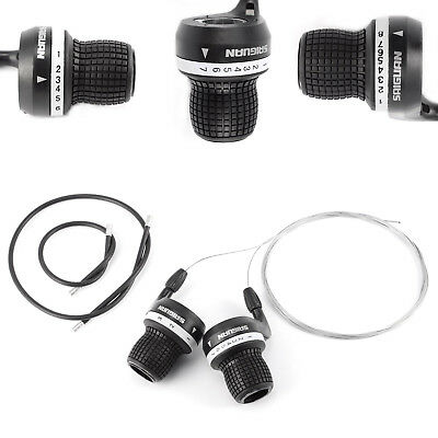 Vélo Frein & Gear Shifter 6-7-8 speed Shimano compatible Bicycle Grip mtb vtt