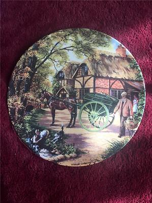 Royal Doulton The Grocer Plate Stephen Cummings Country Deliveries +Cert