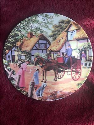 Royal Doulton The Postman Plate Stephen Cummings Country Deliveries +Cert