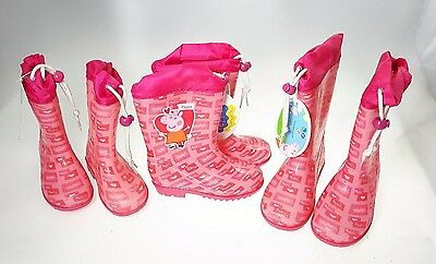 PEPPA PIG Booties Waterproof baby Rubber Size 25-27-29