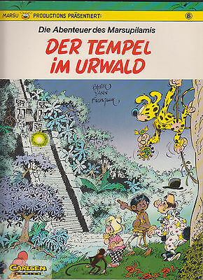Marsupilami Carlsen sc. Number 1 - 8 in Very Good Beautiful Condition (1)