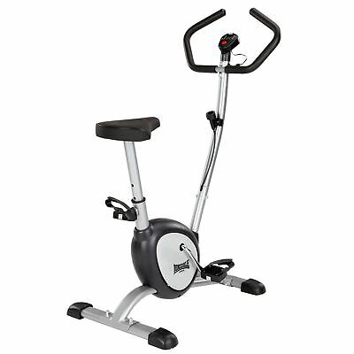Lonsdale Exercise Bike Training Exercising Home Gym Equipment Cool Grey One Size