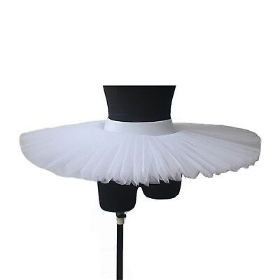 HDW DANCE Women Professional Ballet Platter Tutus 5 Layers Skirt Without Unde...