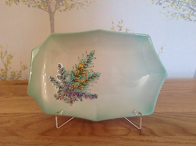 Beswick England Ceramic Dish 1912 Decorated With Gorse And Heather