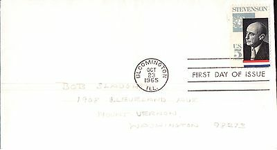 United States A. E. Stevenson First Day Cover 1965
