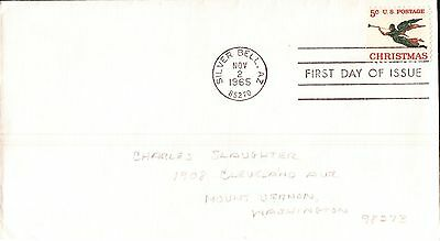 United States Christmas 1965 First Day Cover