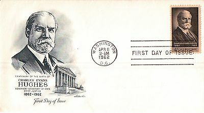 United States C. E. Hughes First Day Cover 1962