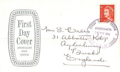 Australia First Day Cover 1970