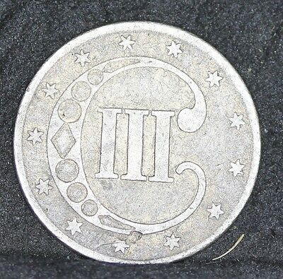 USA. Silver Three Cents / Trime, 1851, VF