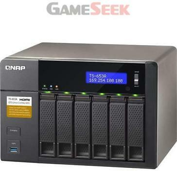 Qnap Ts-653A-4G/32Tb-Iw 6 Bay Nas   Free Delivery Brand New